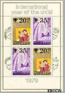 Nederlandse Antillen NA 640  1979 Jaar van het Kind 45+20 cent  Postfris