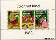 Nederlandse Antillen NA 753  1983 Kind en dieren  cent  Postfris