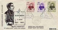 Nederlandse Antillen NA E14  1960 Sterfdag Niewindt  cent  FDC zonder adres