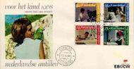 Nederlandse Antillen NA E51  1968 Kind en dier  cent  FDC zonder adres