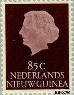 Nieuw-Guinea NG 36  1955 Type 'En Profile' 85 cent  Gestempeld