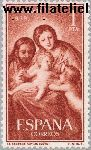 SPA 1150# Postfris 1959 Kerstmis