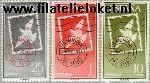 SPA 1243#1245 Postfris 1961 Dag van de Postzegel