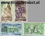 SPA 1334#1337 Postfris 1962 El Cid