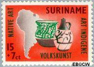 Suriname SU 338  1960 Opening nieuw postkantoor 15+7 cent  Gestempeld