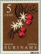 Suriname SU 358  1961 Inheemse vruchten 5 cent  Gestempeld