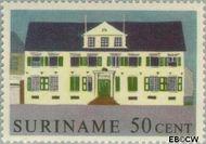 Suriname SU 368  1961 Historische gebouwen 50 cent  Gestempeld