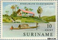 Suriname SU 386  1962 Gereedkomen nieuwe hotels 10 cent  Gestempeld