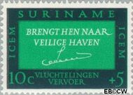 Suriname SU 436  1966 ICEM 10+5 cent  Gestempeld