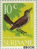 Suriname SU 446  1966 Vogels 10 cent  Gestempeld