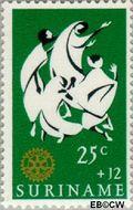 Suriname SU 456  1966 Service clubs 25+12 cent  Gestempeld