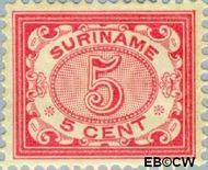 Suriname SU 46  1902 Drukwerkzegel 5 cent  Gestempeld