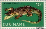 Suriname SU 516  1969 Ingebruikstelling dierentuin 10 cent  Gestempeld