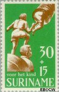 Suriname SU 526  1969 Kinderspelen 30+15 cent  Gestempeld