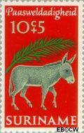 Suriname SU 556  1971 Paassymbolen 10+5 cent  Gestempeld