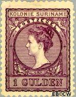 Suriname SU 56  1907 Medaillon 100 cent  Gestempeld