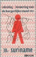 Suriname SU 566  1971 Volkstelling 30 cent  Gestempeld