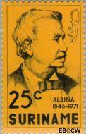 Suriname SU 576  1971 Stichting Albina 25 cent  Gestempeld