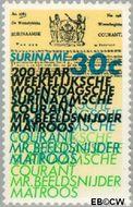 Suriname SU 626  1974 Surinaamse krant 30 cent  Gestempeld