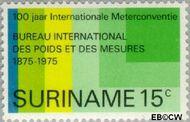 Suriname SU 646  1975 Meterconventie 1875 15 cent  Gestempeld