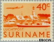 Suriname SU LP41  1965 Landschappen 40 cent  Gestempeld