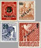 Berlin ber 64#67  1949 Opdruk  Postfris