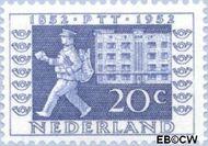 Nederland NL 595  1952 Postzegeltentoonstelling I.T.E.P. 20 cent  Postfris