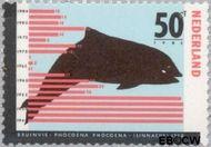 Nederland NL 1338  1985 Bedreigde dieren 50 cent  Postfris