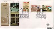 Aruba AR E37  1992 Postdienst  cent  FDC zonder adres
