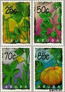Aruba AR 160#163  1995 Arubaanse vruchten  cent  Postfris