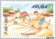 Aruba AR 256  2000 Solidariteit 100+50 cent  Gestempeld