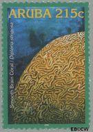 Aruba AR 351  2005 Koraal 215 cent  Gestempeld