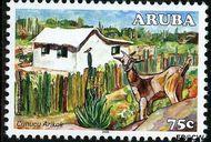 Aruba AR 369  2006 Nationaal Park Arikok 75 cent  Gestempeld