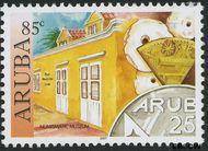 Aruba AR 377  2007 Historische musea 85 cent  Gestempeld