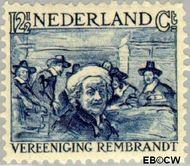 Nederland NL 231  1930 Vereniging Rembrandt 12½+5 cent  Gestempeld