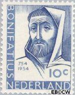 Nederland NL 646#  1954 Bonifatius, St.  cent  Gestempeld