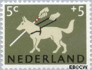 Nederland NL 812  1964 Dieren 5+5 cent  Gestempeld
