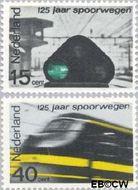 Nederland NL 818#819  1964 Spoorwegen   cent  Gestempeld
