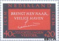 Nederland NL 857  1966 ICEM 40+20 cent  Gestempeld