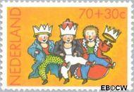 Nederland NL 1298  1983 Wintermotieven 70+30 cent  Gestempeld