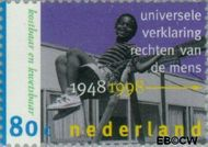 Nederland NL 1755  1998 Mensenrechten 80 cent  Gestempeld