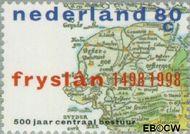 Nederland NL 1767  1998 Centrale besturing Friesland 80 cent  Gestempeld
