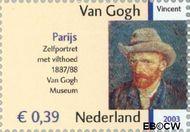 Nederland NL 2145  2003 Vincent van Gogh 39 cent  Gestempeld