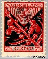 Nederland NL R80  1927 Wapens 7½+3½ cent  Gestempeld