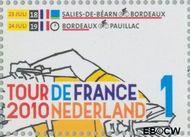Nederland NL 2726  2010 Tour de France 1 cent  Gestempeld