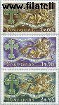 POR 945#947 Postfris 1963 Militaire orde Avis