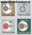 POR 1105#1108 Postfris 1970 Wereldtentoonstelling EXPO '70