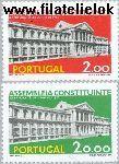 POR 1283#1284 Postfris 1975 Opening van de wetgevende vergadering