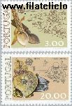 POR 1311#1312 Postfris 1976 C.E.P.T.- kunstnijverheid