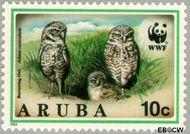 Aruba AR 135  1994 Wereld Natuur Fonds 10 cent  Gestempeld